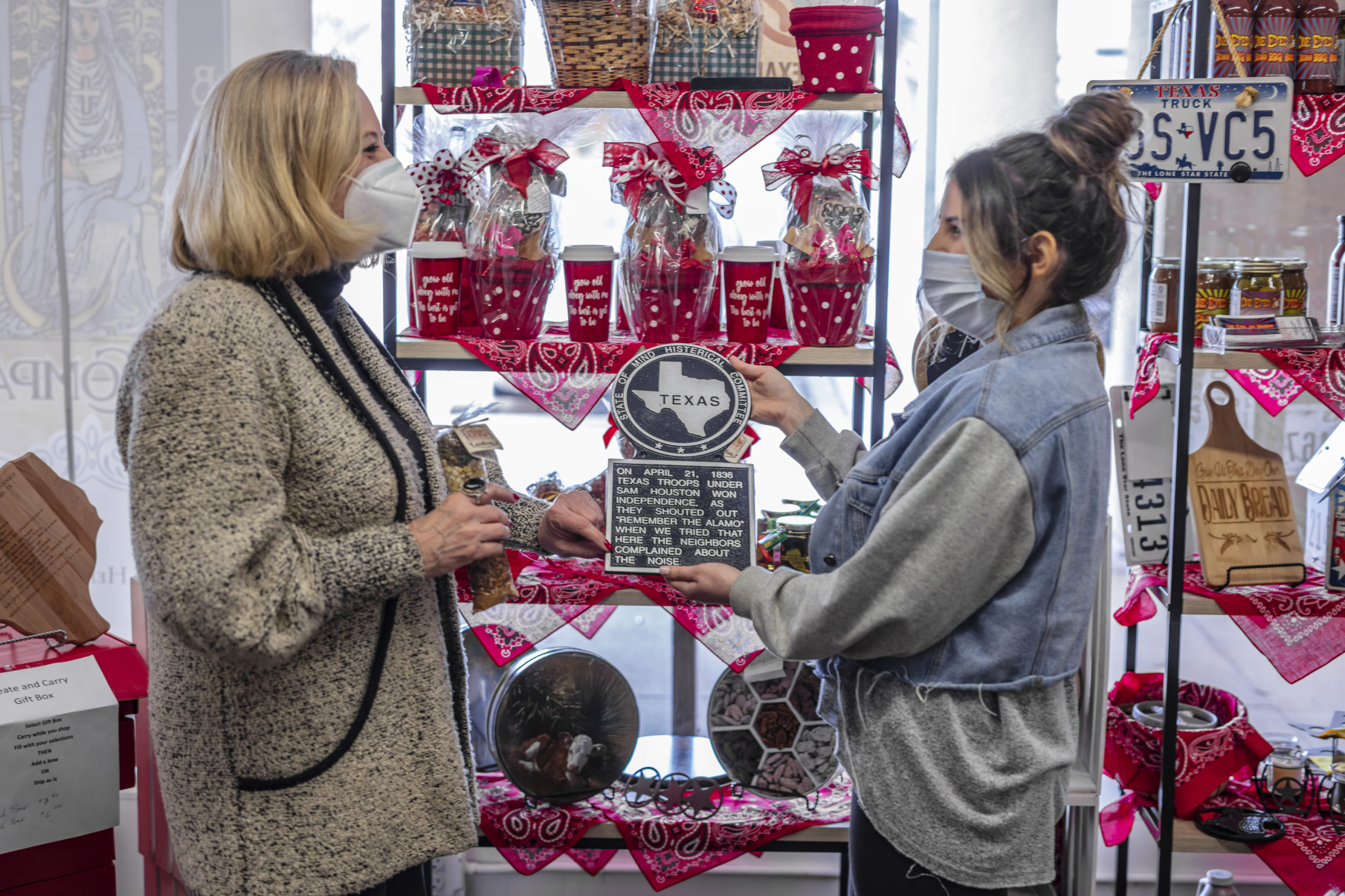 Discover Texas by Texans, a booth at Cottonwood Market Showcasing Texas Artisans