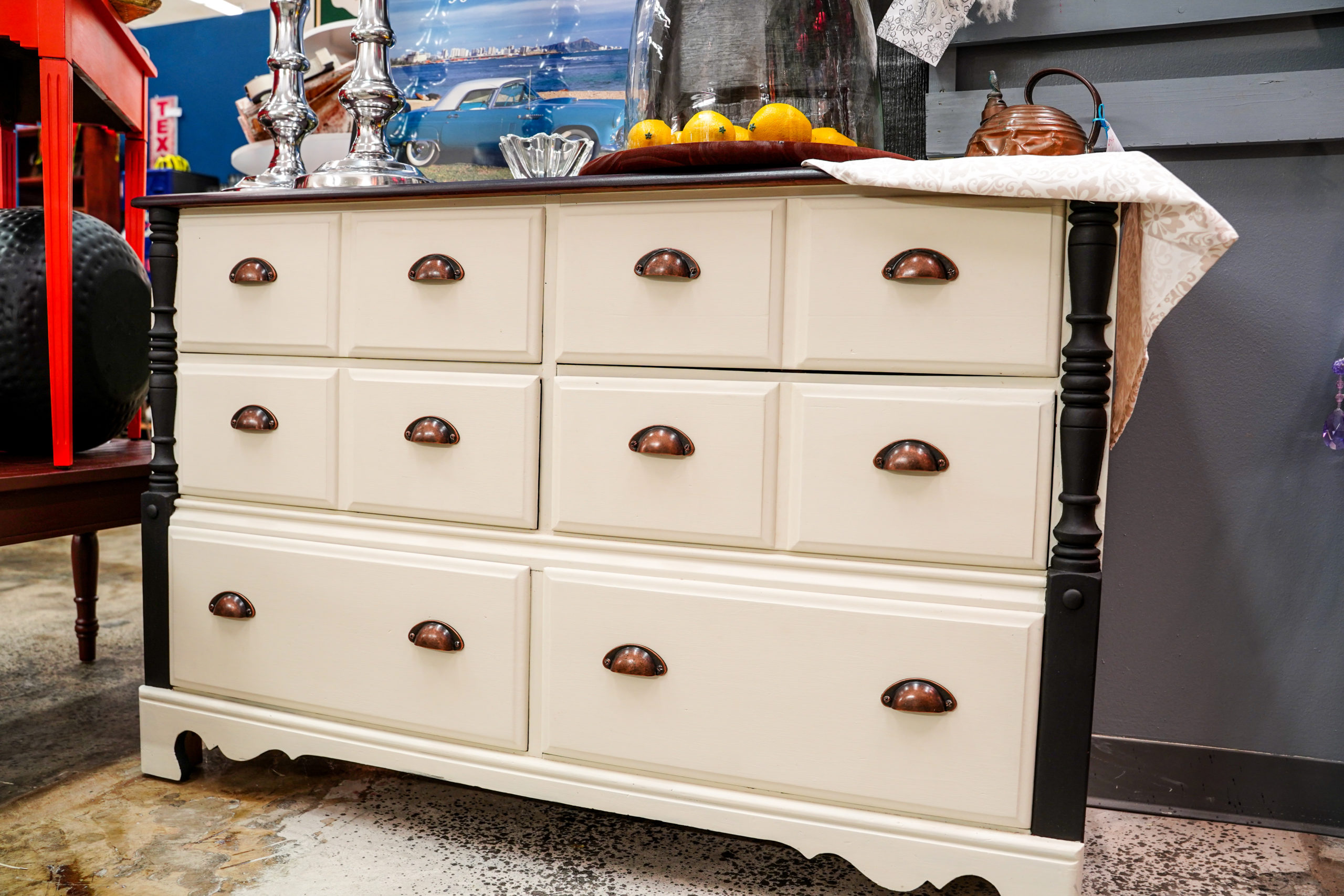 Add Character to Your Home with Upcycled and Restored Furniture from Bless Your Heart Designs
