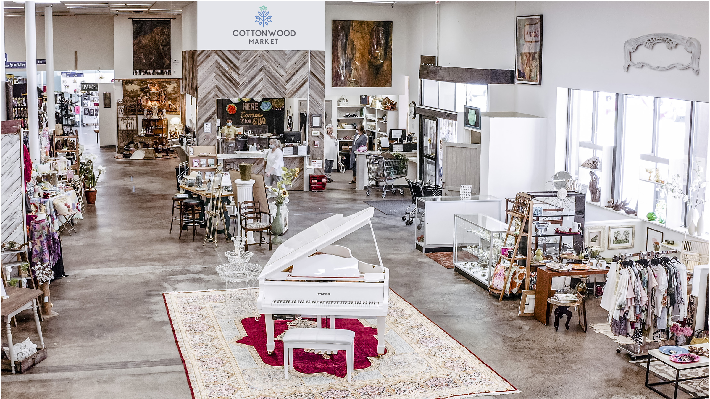 Experience The Excitement of Discovery at Cottonwood Market, A Revitalized Richardson Mercantile