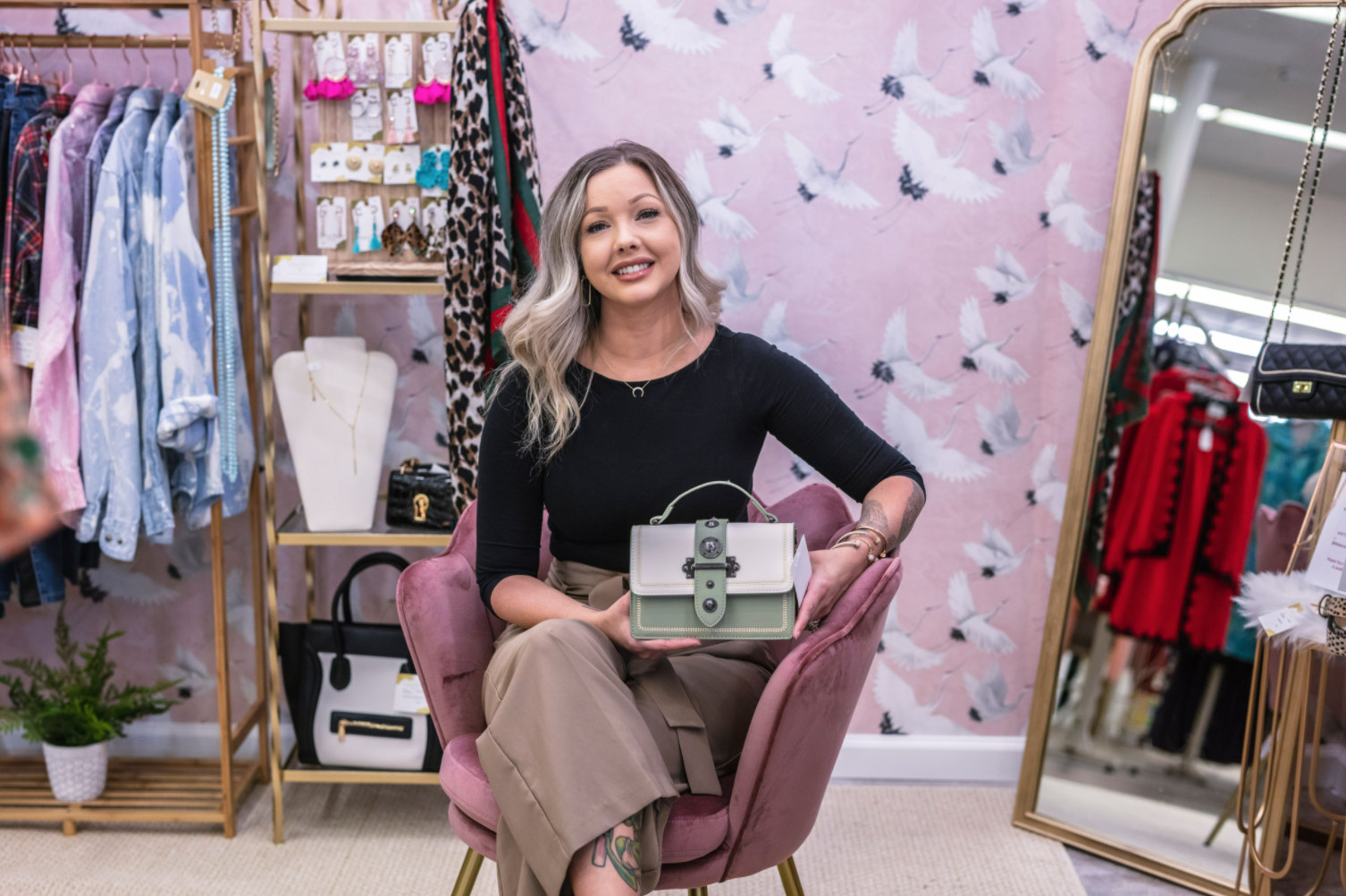 Find Sparkle this Spring with Rebecca Danielle Designs, a Cottonwood Market Dealer Who Shines