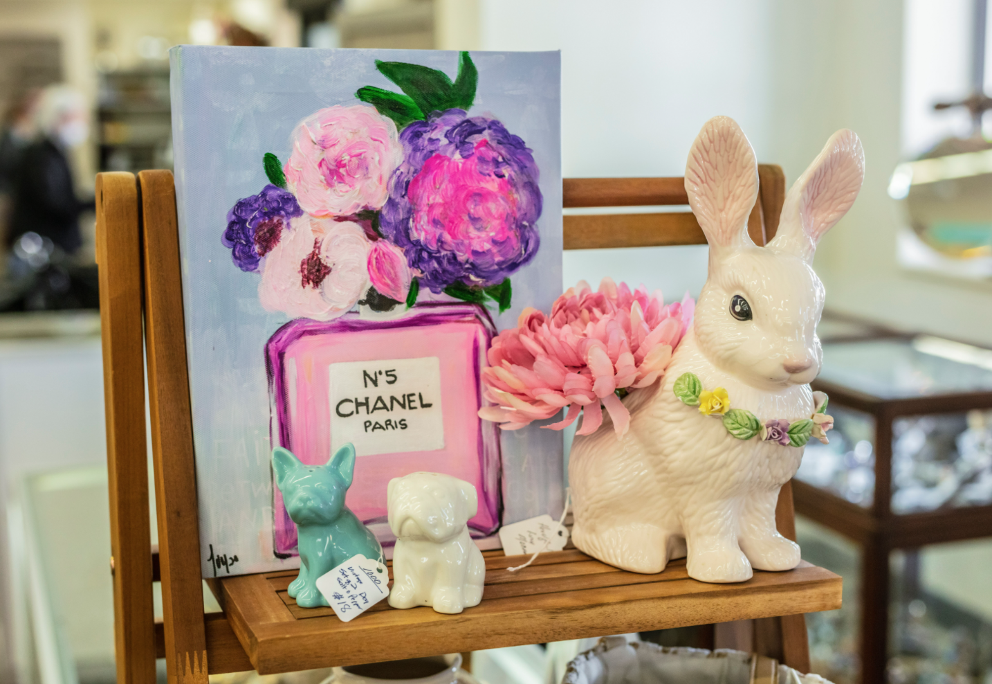 SPRING Into Easter 2021 Decorating at Cottonwood Market in Richardson