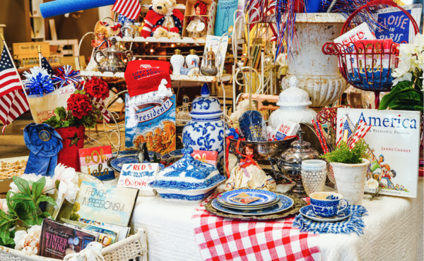 Celebrate Fourth of July 2021 with Patriotic Home Decor and Delicious Summer Treats